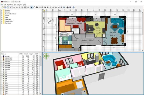 3d Home Design Software Version Free For Windows 7 by Sweet Home 3d For Windows 6 Best Free Bathroom Design