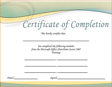 training certificate templatereference letters words
