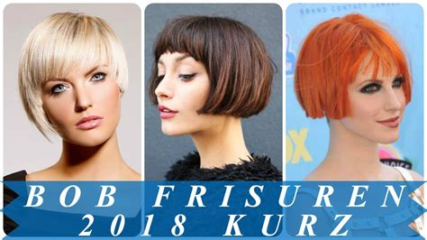 elegante kurzhaar bob frisuren  youtube