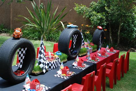 car themed home decor cars theme birthday party d 233 cor ideas decozilla