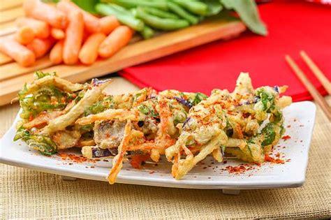 tempura sayuran resep  dapur kobe