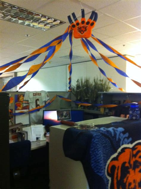 Nfl Decorations 73 Best Images About Cubicle Decorating On