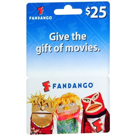 Fandango Gift Card Locations - fandango 25 gift card walgreens