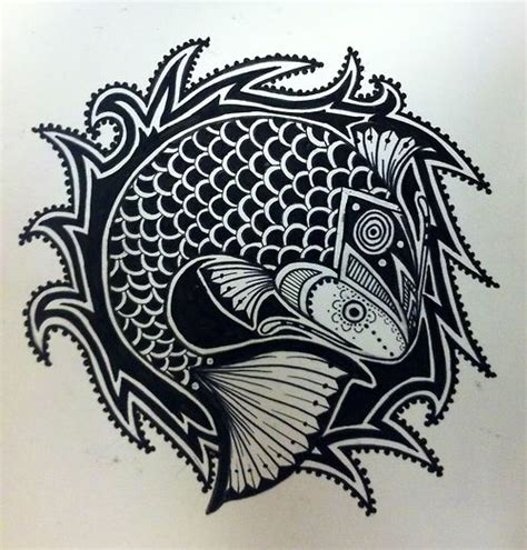 tribal fishing tattoos tribal fishing www imgkid the image kid has it