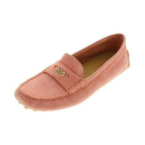 coach nicola loafer coach nicola pink nubuck slip on flats loafers shoes 10