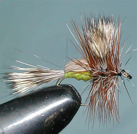 yellow humpy pattern humpy yellow trout fly pattern