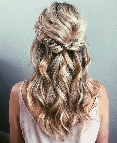 hair half up half half up wedding hair ideas popsugar uk
