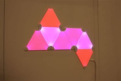 aurora led light panels  nanoleaf home decorating