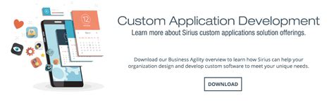 020 Leverage Your Unique Advantage - application development sirius computer solutions