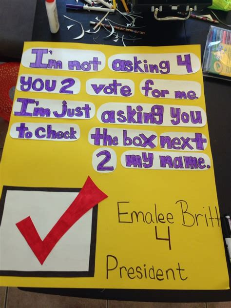 17 Best Ideas About Presidential Caign Posters On - 17 best student council election images on