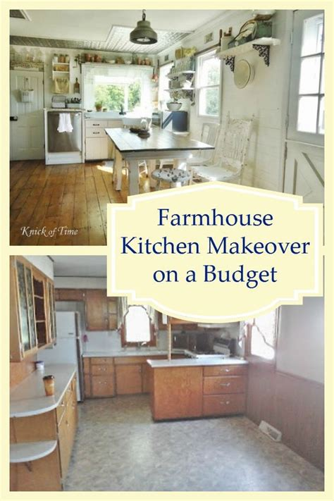 farmhouse kitchen ideas on a budget farmhouse kitchens beautiful and shelves on pinterest