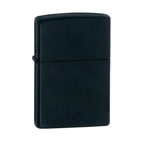 Zippo Lighter Matte zippo cab1315 lighter in black presentation box black
