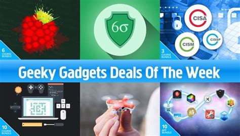 Deal Of The Week 25 At Adasacom by Geeky Gadgets Deals Of The Week 25th March 2017 Geeky