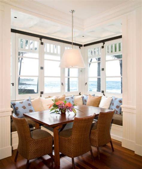 cozy comfortable  delightful breakfast nooks