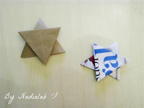 tutorial per origami tutorial come fare una stella di carta bynadialab