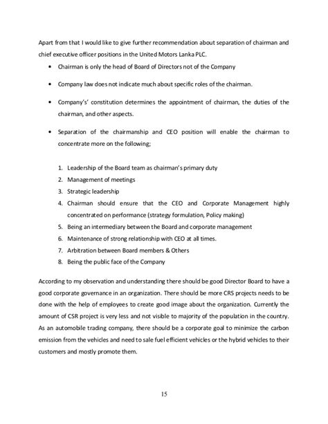 Mba Corporate Governance Ignou by Corporate Governance Aib Mba 2015