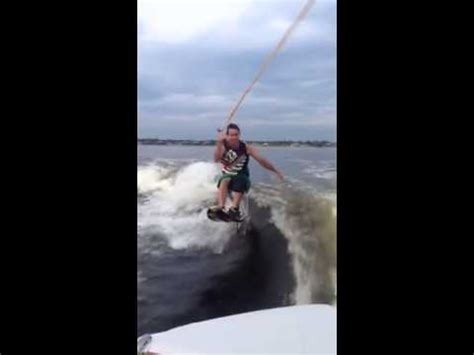 hydrofoil behind boat hydrofoil wakesurfing youtube