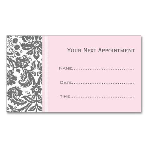 next appointment cards templates free your next appointment better living center and