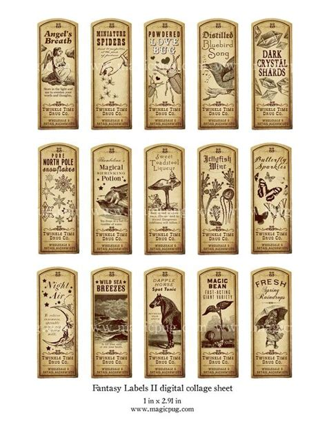 potion label template best 25 potion labels ideas on