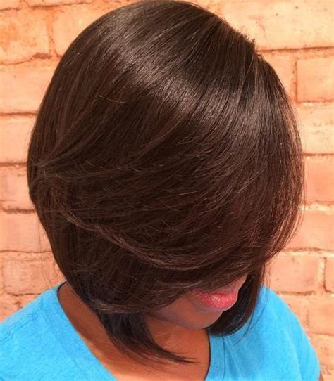 brown layerd bobs 60 great short hairstyles for black women