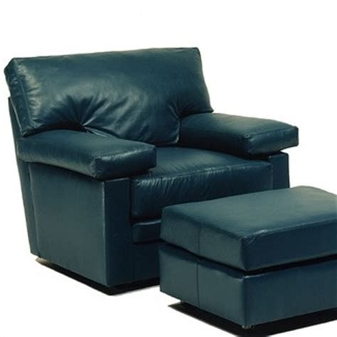 Teal Chair With Ottoman by Teal Leather Chair And Ottoman For The Home