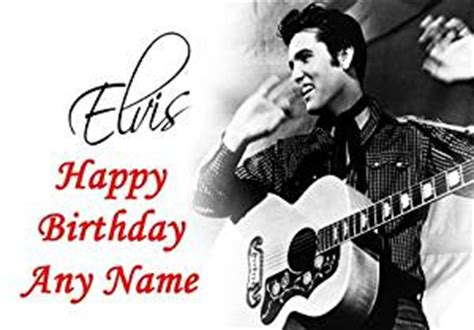 elvis greeting cards printable elvis presley black white personalised birthday card