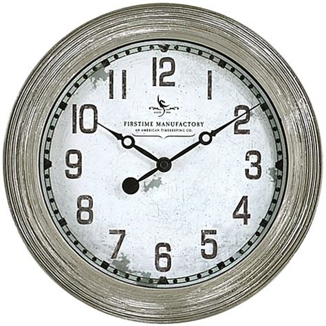 bed bath beyond clocks firstime 174 driftwood wall clock bed bath beyond