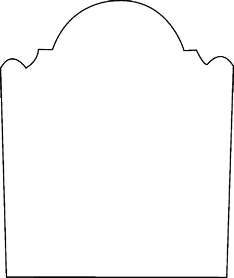 tombstone coloring printable clipart best