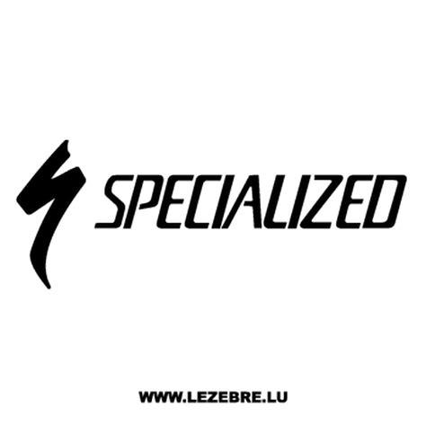 Bike Sticker Logo by Specialized Logo Bicycle Decal