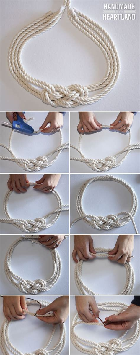 how to make rope jewelry 25 best ideas about nautical knots on rope