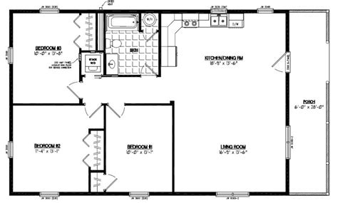 28x48 floor plans certified homes settler certified home floor plans
