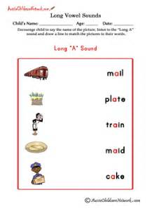 long vowel sounds matching pictures aussie childcare network