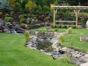 backyard waterfalls and streams 187 backyard and yard design