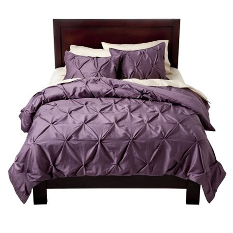 target threshold bedding pinch pleat duvet cover set threshold target
