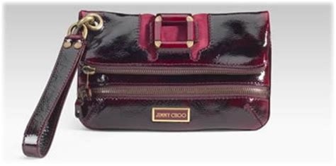 Jimmy Choo Mave Liquid Patent Clutch by Jimmy Choo Plum Patent Clutch Purseblog