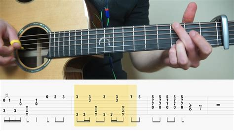 tutorial fingerstyle pemula alan walker alone fingerstyle guitar tabs tutorial