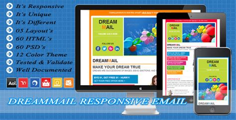 Smile Responsive Business Mailchimp E Mail By Exchanger Themeforest Free Responsive Mailchimp Templates