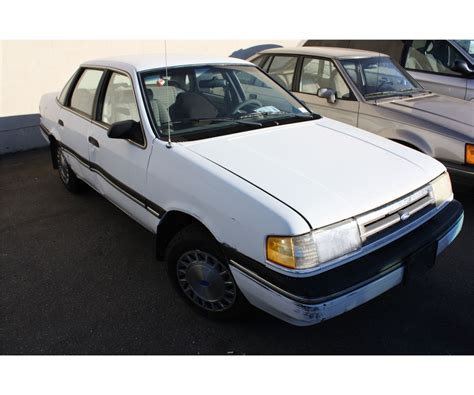 1991 ford tempo information and photos zombiedrive 1991 ford tempo 4 dr sedan white vin 2fabp35x8mb191639
