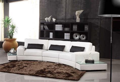 canape angle arrondi deco in canape d angle arrondi cuir noir atlanta