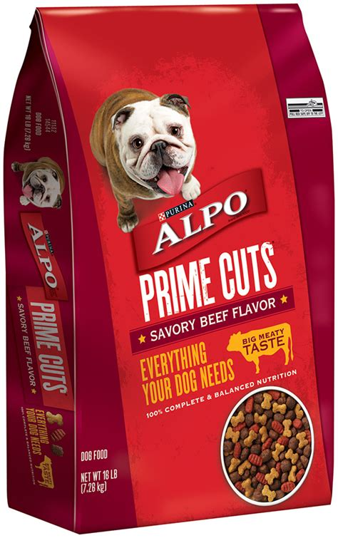 Food Alpo Prime Cuts With Beef Flavor In Gravy 623g alpo prime cuts savory beef flavor food 16 lb bag