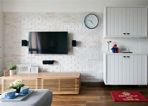 beautiful brick walls home decor singapore 6 homes with walls that have the exposed brick look home