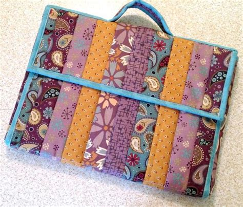 Patchwork Gifts Free Patterns - 7 patchwork and quilted bag designs to try