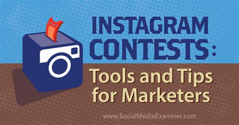How To Do A Giveaway On Instagram - instagram contests tools and tips for marketers