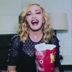 Madonn Still Working It by Madonna Gorges On Crisps On Instagram Daily Mail