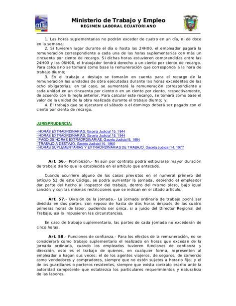 codigo de trabajo pdf 2016 ecuador codigo de trabajo ecuador 2016 codigo laboral ecuatoriano