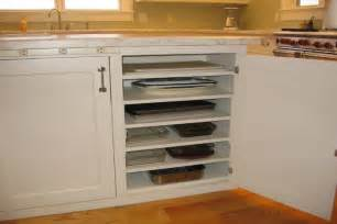 baking pan storage 10 super clever kitchen storage ideas