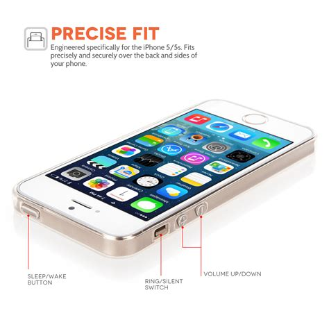 Iphone 5 Thin yousave accessories iphone 5 5s ultra thin clear gel