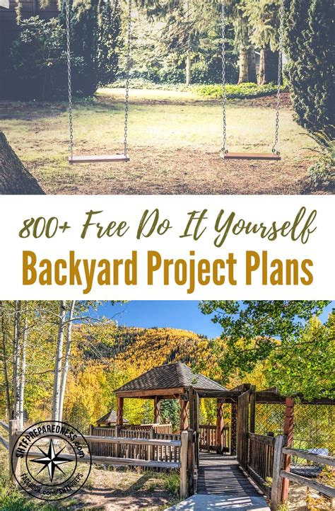 do it yourself backyard 800 free do it yourself backyard project plans