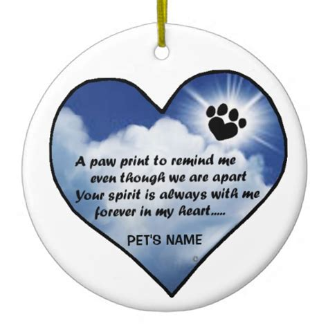 pawprint memorial poem zazzle