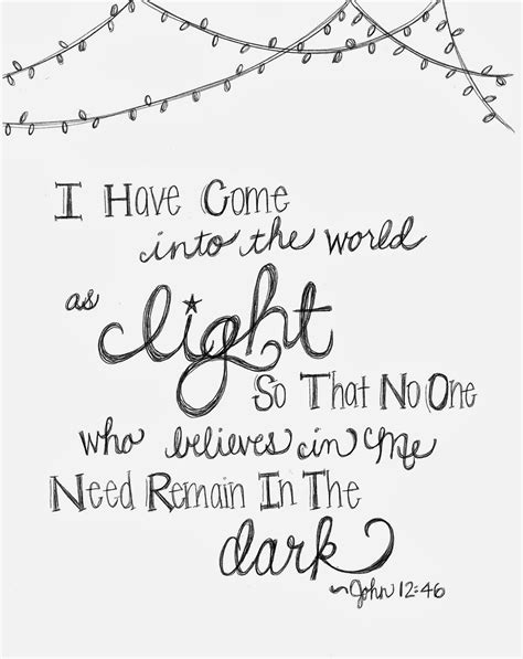 christmas coloring pages with quotes look to him and be radiant quot come as light quot coloring page